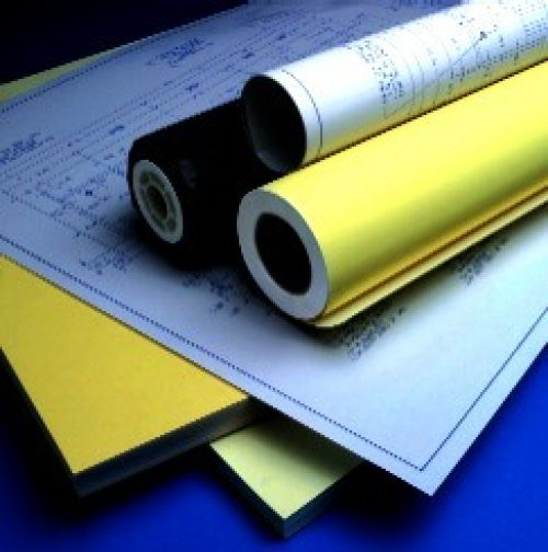 Blueprint paper 24 inch x 36 ft roll national direct diazo paper malvernweather Images